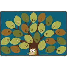 <strong>Carpets for Kids</strong> Owl-phabet Kids Rug