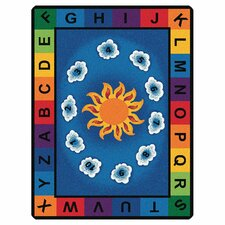 <strong>Carpets for Kids</strong> Literacy Sunny Day Learn and Play Kids Rug