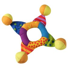 <strong>PetStages</strong> Toss Ring Mini Dog Toy in Multi Colored