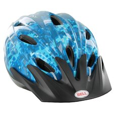 Youth Geo Floral Smart Fit Helmet