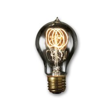 Smoke Incandescent Light Bulb