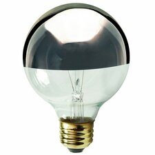Half Chrome G16.5 Globe Shape Bulb