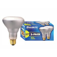 65W 130-Volt (2700K) Incandescent Light Bulb (Pack of 2)