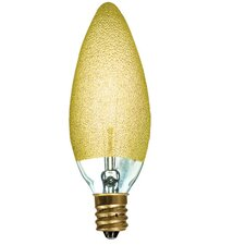 Crystal 25W Incandescent Light Bulb (Set of 5)