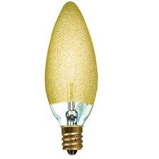 Crystal 25W Incandescent Light Bulb