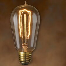 Nostalgic Edison (2200K) Incandescent Light Bulb (Pack of 6)