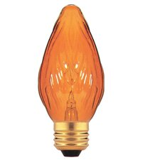 Amber 130 - Volt (2700K) Incandescent Light Bulb (Pack of 8)