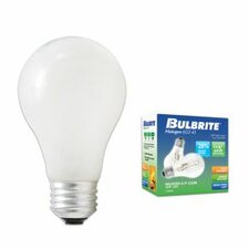 72W A19 Halogen Bulb in Soft White (Pack of 2)