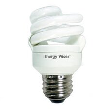 Super Mini 9W 120-Volt (5000K) Compact Fluorescent Light Bulb