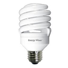 Super Mini 18W 120-Volt (5000K) Compact Fluorescent Light Bulb