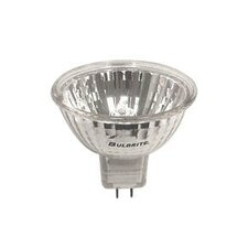 20W Clear Halogen MR16 Bi-Pin Lensed Bulb in Bright White