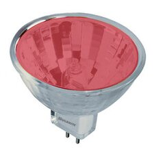 50W Bi-Pin MR16 Halogen Bulb in Red