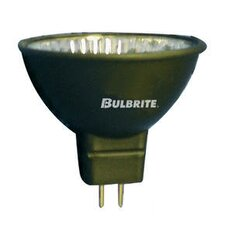 20W Bi-Pin MR16 Halogen Flood Bulb in Black