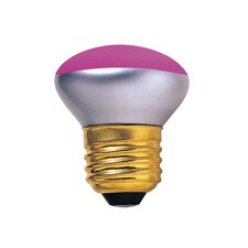 40W Pink 120-Volt Incandescent Light Bulb