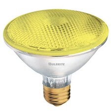 75W Yellow 120-Volt Halogen Light Bulb