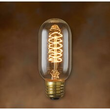 Edison Torch Spiral Filament Bulb in Antique
