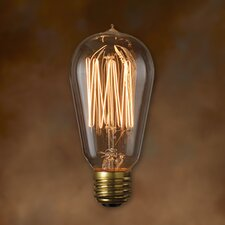 60W A19 Nostalgic Incandescent Medium Base Bulb