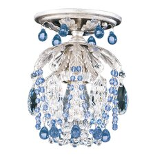 Rondelle 1 Light Semi Flush Mount