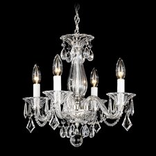 <strong>Schonbek</strong> Allegro 4 Light Mini Chandelier