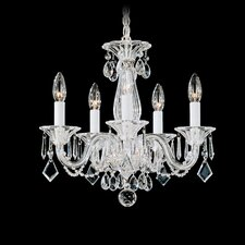 Allegro 5 Light Mini Chandelier