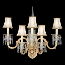 Birmingham Five Light Wall Sconce