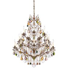 <strong>Schonbek</strong> Bordeaux 25 Light Chandelier