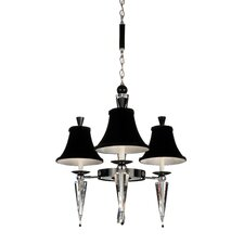 Diva 3 Light  Chandelier