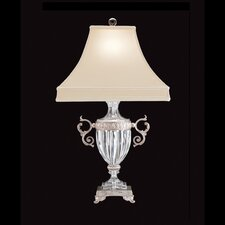"Dynasty 26.5"" H Table Lamp with Bell Shade"