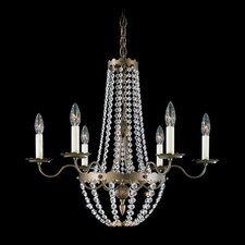 <strong>Schonbek</strong> Early American 6 Light  Chandelier
