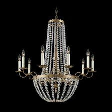 <strong>Schonbek</strong> Early American 10 Light  Chandelier