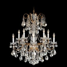<strong>Schonbek</strong> New Orleans 10 Light Chandelier in French Gold