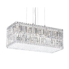 Quantum Rectangular Down Light Kitchen Island Pendant
