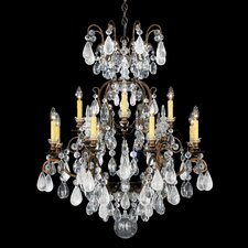<strong>Schonbek</strong> Renaissance Rock Crystal 12 Light Chandelier