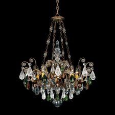 <strong>Schonbek</strong> Renaissance Rock Crystal 8 Light Chandelier