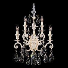 Renaissance Five Light Wall Sconce