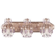 Rondelle 3 Light Bath Vanity Light