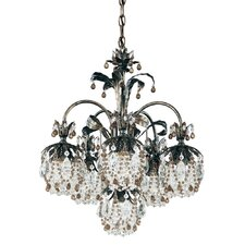 Rondelle 6 Light Chandelier