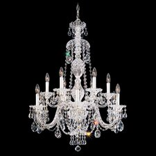 <strong>Schonbek</strong> Sterling  12 Light Chandelier