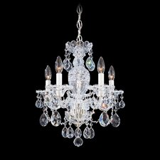 Sterling 5 Light Mini Chandelier