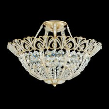 Tiara 9 Light Semi Flush Mount