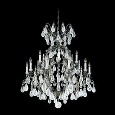 <strong>Schonbek</strong> Versailles Rock Crystal 15 Light Chandelier