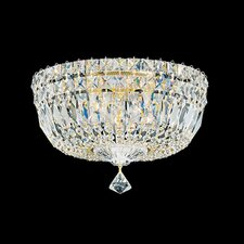 Petit Crystal Deluxe 5 Light Flush Mount