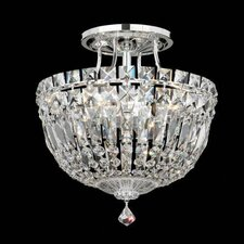 Petit Crystal Deluxe Semi Flush Mount