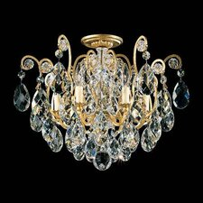 Renaissance 6 Light Semi Flush Mount