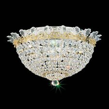 Roman Empire 6 Light Flush Mount