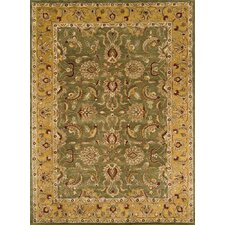 Meadow Breeze Green Rug