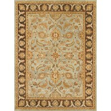 Meadow Breeze Light Spruce/Brown Rug
