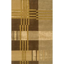Edge Light Brown Rug