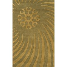 Edge Light Sage Rug