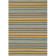 City Stripes Blue Rug